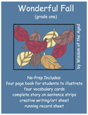 Poem - Fall - No Prep Printable Book with Activities
