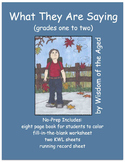 Fall - Reading - No Prep - Printable Story - worksheets