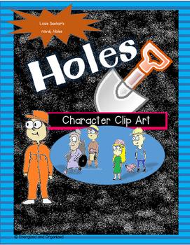 No Prep Holes Characters- Printables