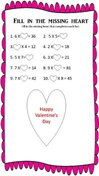 No Prep Printable Valentine's Day Activities
