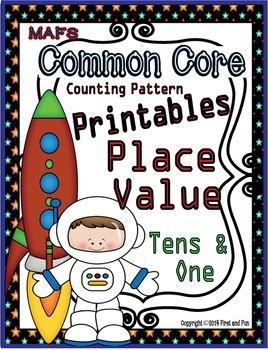 Tens and Ones No Prep Printables Number Patterns Place Value Common Core MAFS