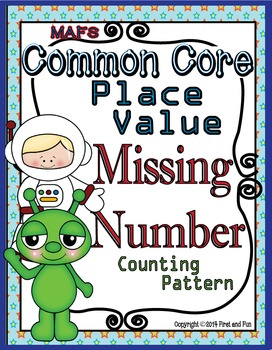 TENS and ONES No Prep Printables Place Missing Number, Pat