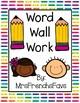 No Prep Printables! Word Wall Work- Write the Room Phonics Activity