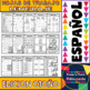 No Prep Printables in Spanish - Fall Edition - Maths and Language - K/1st