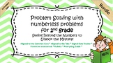 Active Inspire- Problem solving with Numberless Word Problems Bundle- No Prep!