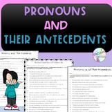 No-Prep - Pronouns and their Antecedents
