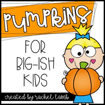 Pumpkin Printables for Big-ish Kids!