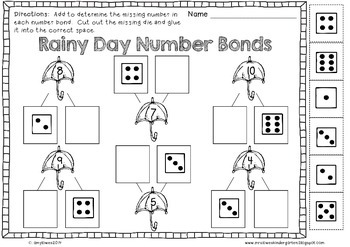 No Prep Rainy Day Fun Math and Literacy Printables FREEBIE