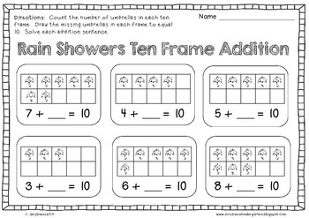 No Prep Rainy Day Fun Math and Literacy Printables FREEBIE