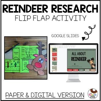 No Prep Reindeer Research Flip Flap