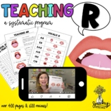 Teaching R : No Prep Resource for R Articulation Therapy