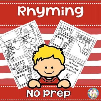 No Prep Rhyming