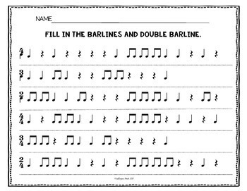 No Prep Rhythm Worksheets Bundle: Quarter (& rest) Eighth Sixteenth ...