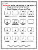 Music Rhythm Worksheets: Tie & Half & Whole Notes