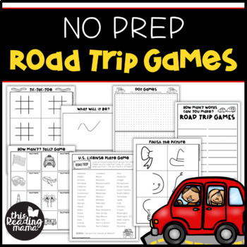 No Prep Road Trip Games