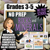 No-Prep Rocks and Minerals Complete Resource Pack
