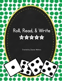 No-Prep Roll, Read, & Write: Money