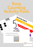 Rote Counting Activity Pack (No Prep)