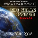 No-Prep STEM Escape Room - Science - Solar System -2nd 3rd Grade Activities
