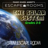 No-Prep STEM Escape Room -Science-Solar System-3rd 4th 5th grade STEM Activities