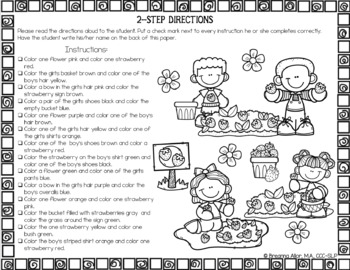 no prep seasonal holiday following directions worksheets by breanna allor. Black Bedroom Furniture Sets. Home Design Ideas