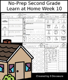 No-Prep Second Grade Learning At Home Week 10: Distance Learning
