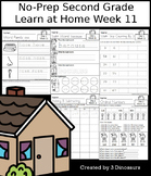 No-Prep Second Grade Learning At Home Week 11: Distance Learning
