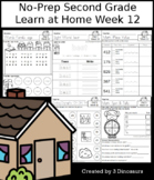 No-Prep Second Grade Learning At Home Week 12: Distance Learning