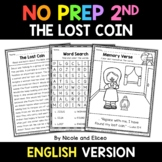 No Prep Second Grade The Lost Coin Bible Lesson - Distance