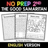 No Prep Second Grade The Good Samaritan Bible Lesson - Dis
