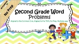 Active Inspire No Prep- Second Grade Word Problem Solving Bundle