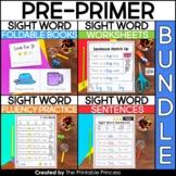 No Prep Sight Word Bundle   Kindergarten Sight Words