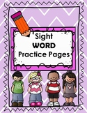 No Prep Sight Word Pack