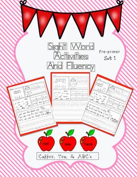 No Prep Sight Word and Fluency Sentences