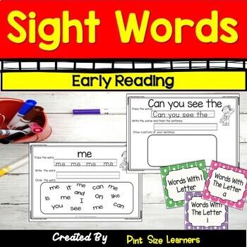 No Prep Sight Words Worksheets