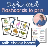 Sight Word Printable Flashcards