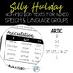 No Prep Silly Holiday Texts for Speech Therapy Mixed Groups - June