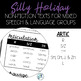 No Prep Silly Holiday Texts for Speech Therapy Mixed Groups - March