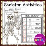 No Prep Skeleton Activities