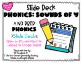 No Prep Sounds of Y Digital Resource   Google Slides Compatible