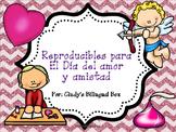 No Prep Spanish Valentine's Day/Reproducibles para el Dia