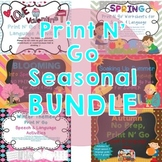 No Prep Speech & Language Activities BUNDLE