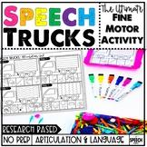 No Prep Speech & Language Activity: Fine Motor Trucks