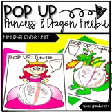 Speech Therapy Craft: Pop Up Dragons and Princesses (Mini