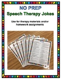No Prep Speech Therapy Jokes