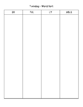 No-Prep Spelling Activity Packet - Adding Suffixes