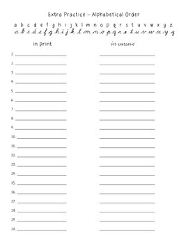 No-Prep Spelling Activity Packet - Contractions