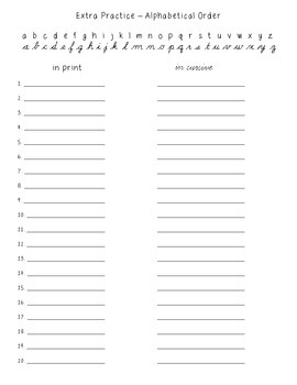 No-Prep Spelling Activity Packet - Double Consonant Patterns
