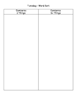 No-Prep Spelling Activity Packet - ER and EST Patterns