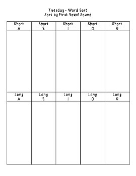 No-Prep Spelling Activity Packet - Final ER Sound Patterns